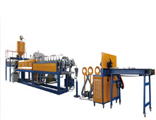 EPE Foam tube rod profile production line